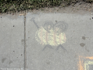 8:16:14 sidewalk bee sig